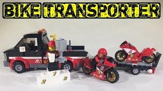 Lego City Racing Bike Transporter 60084 Review