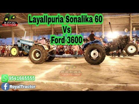 Layallpuria Sonalika 60 Vs Ford 3600 Tractor Tochan Bilaspur (Haryana)