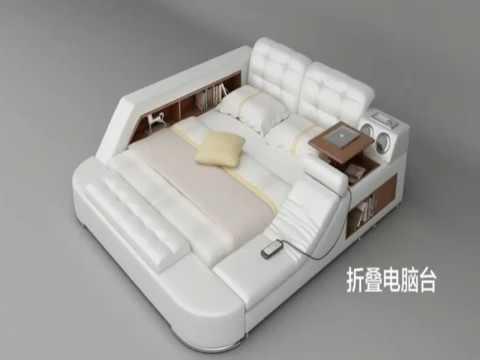 Voici le lit multifonctionnel le plus complet au monde youtube - Les meilleurs lits du monde ...