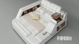 Voici le lit multifonctionnel le plus complet au monde