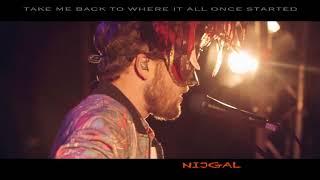 Monolink - Burning Sun (Live at Fuchsbau Festival) - Lyrics on Screen