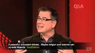 Lawrence Krauss vs John Dickson on Q&A
