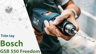 Tinhte.vn | Trên tay máy khoan đa năng Bosch GSB 550 Freedom