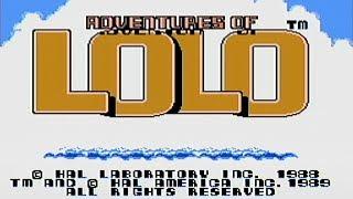 Adventures of Lolo - NES Gameplay