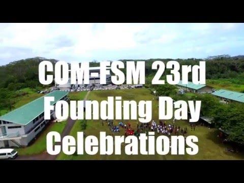 COM-FSM 23rd Founding Day Celebrations