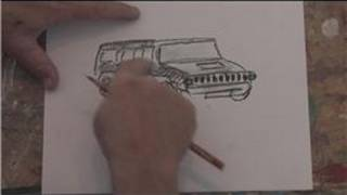 Drawing Basics : How to Draw a Hummer