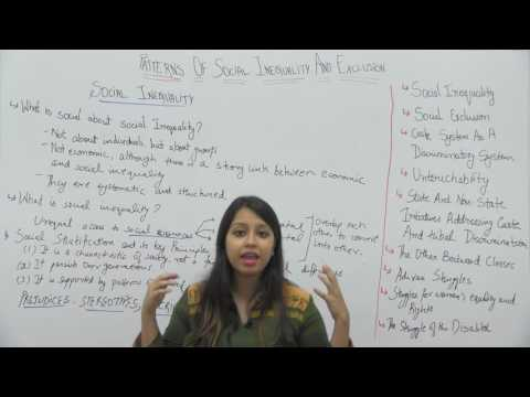 Sociology_XII_Patterns of Social Inequality & Exclusion Part1_Social Inequality_Tanvi Topwal