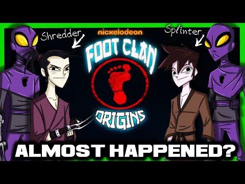 The Tmnt Foot Clan Show That Almost Happened Shredder Splinter Origins Show Youtube