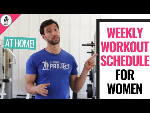 Home Workout Plan for Weight Loss and Toning!