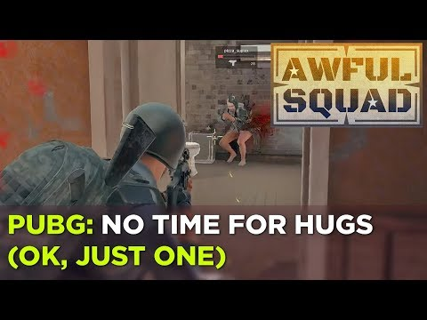 AWFUL SQUAD: No Hug Zone with Griffin, Plante, Ashley, Pat and More!