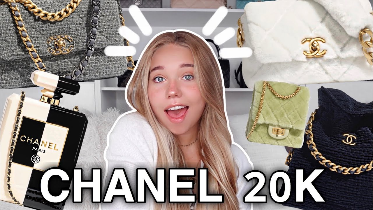 REACTING TO THE ENTIRE NEW CHANEL 20K COLLECTION * Let's Go Virtual Luxury Shopping!!*