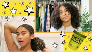 My 3C / 4A Natural Curly Hair Routine 2018