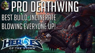 Pro Deathwing Incinerate Bruiser Build - HoTS Heroes of the Storm