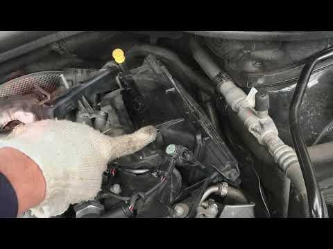 Mercedes GL350 X166 замена топливного фильтра. Fuel Filter Replacement