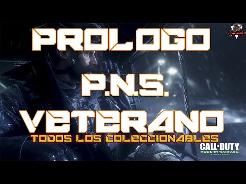 GUÍA CALL OF DUTY MODERN WARFARE REMASTERED PROLOGO P. N.S. WALKTHROUGH