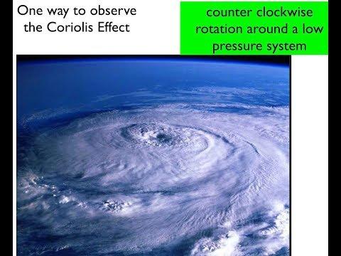 Winds Jet Stream El Nino Coriolis Hurricanes