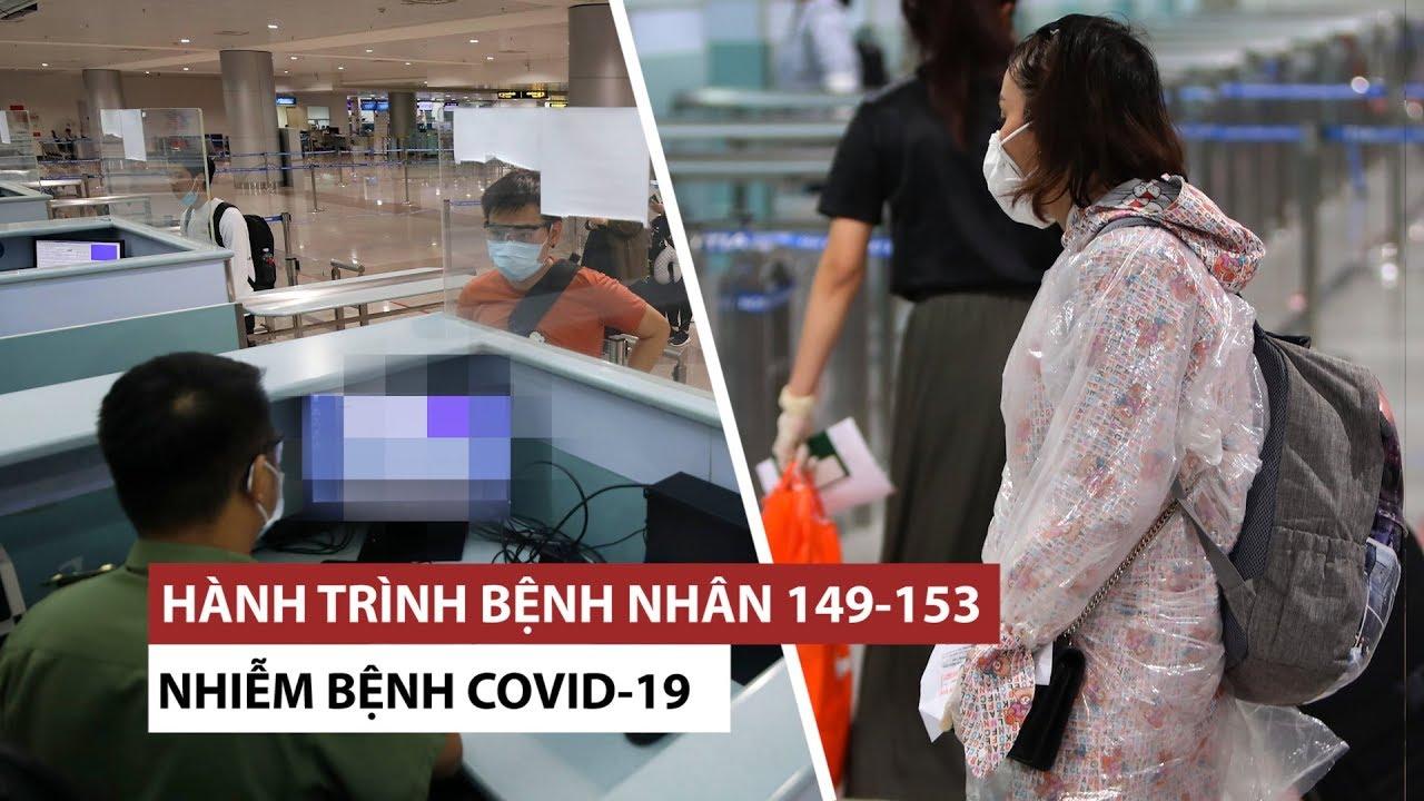 Việt Nam có 153 ca Covid-19: 5 bệnh nhân mới đã đi đâu, gặp ai?