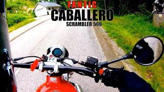 Fantic Caballero 500 Scrambler 2019 - Test Ride and Specs