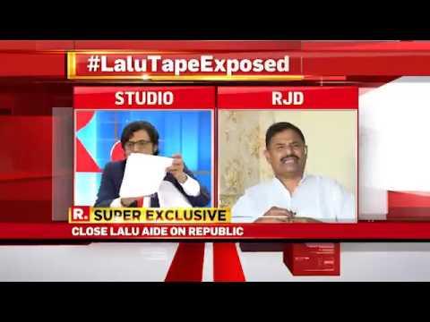RJD  spokesperson Ashok  Sinha   left the show  @ republic tv