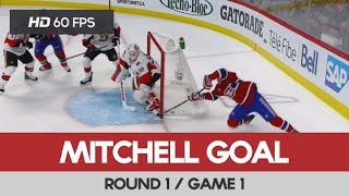 Torrey Mitchell Goal (1) - Round 1 / Game 1 - Ottawa Senators vs Montreal Canadiens 15-04-2015