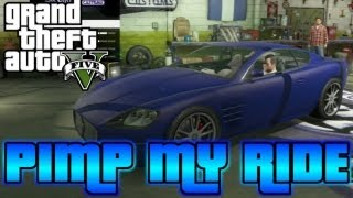 GTA V - Pimp My Ride #5 | Ocelot F620 (Maserati) Customization at Los Santos Customs!
