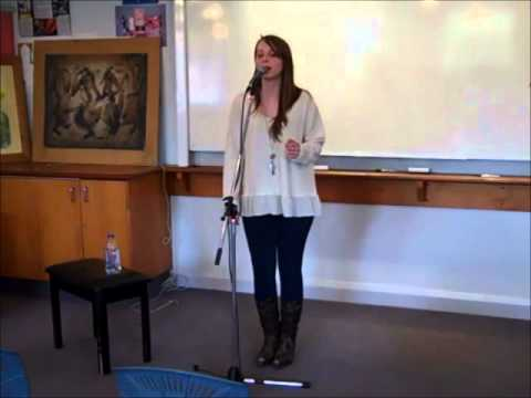 Olivia Hope Wilson, Solo performance - Guess Who I saw Today; Lush Life; Bound to You.