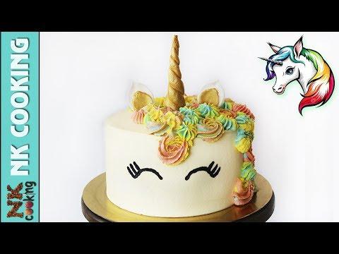 Торт ЕДИНОРОГ на Детский Праздник / День Рождения 🍰 Рецепты NK Cooking