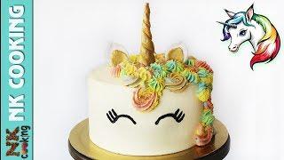 Торт ЕДИНОРОГ Как Сделать / Детский Торт / День Рождения 🍰 Рецепты NK cooking