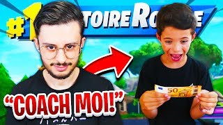 I HAVE PAID MY PETIT FREE FOR THAT COACH ME ON FORTNITE! VOICI WHAT IT'S PAST... 😱