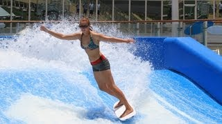 Royal Caribbean, FlowRider video