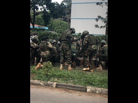 Kenyan Special Forces take charge as Riverside attack unfolded