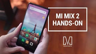 Xiaomi Mi MIX 2 Hands-On Review: A stunning sequel