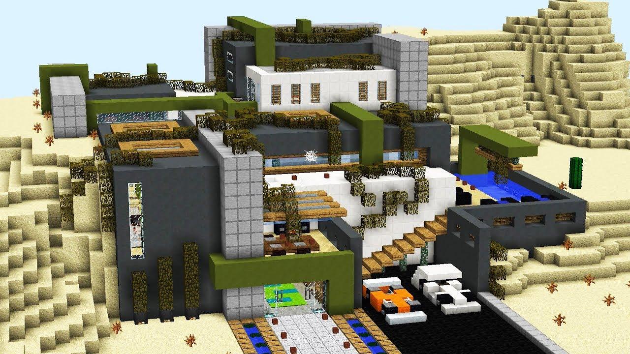 как построить механический дом в майнкрафте #9
