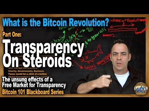 Bitcoin 101 - A Free Market For Transparency (The Bitcoin Revolution)