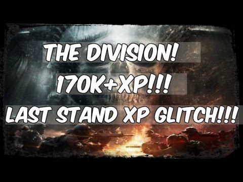 The Division 1.6 Crazy xp Glitch (Easy)(SOLO)Last Stand!!!