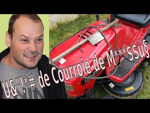 Changer Les Courroies Dun Tracteur Tondeuse Youtube