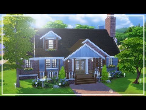 WESTBROOK BUNGALOW // The Sims 4: Speed Build