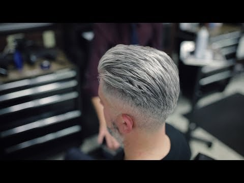 Modified Side Part Comb Over - Men's Hairstyles 2019