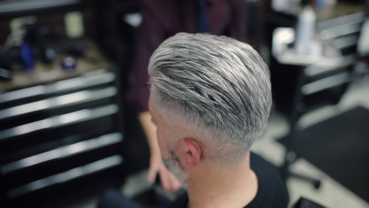 Modified Side Part Comb Over - Men\'s Hairstyles 2019