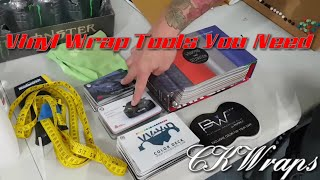 Vinyl wrap tools you need to wrap a car. How to vinyl wrap a car. By @ckwraps