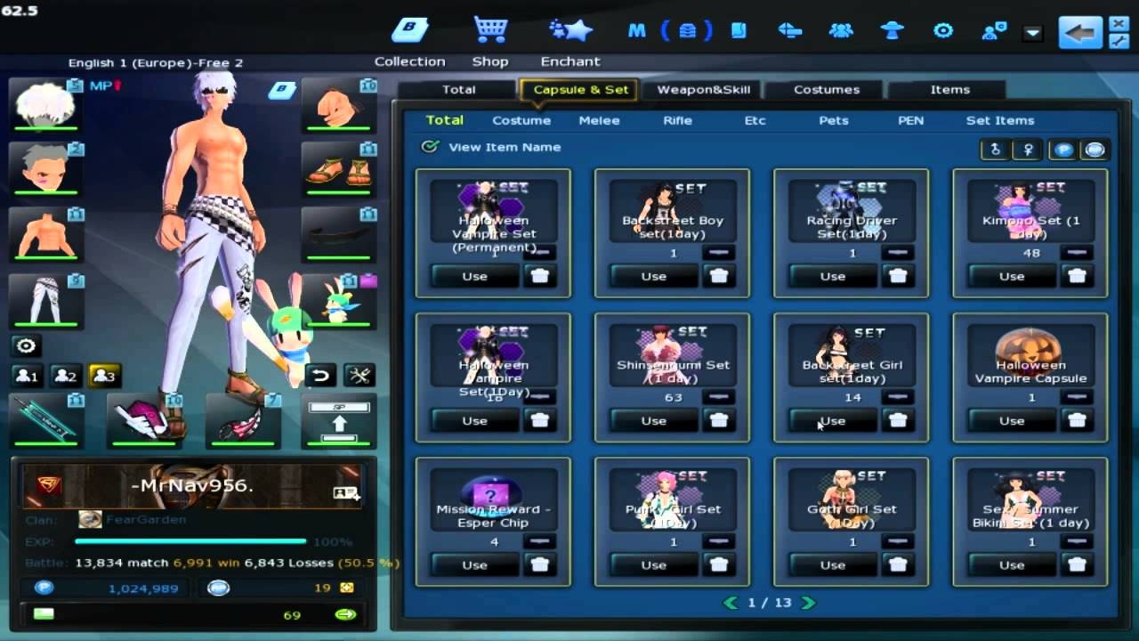 Download S4 League - Haloween Vampire Set - 100% Booster