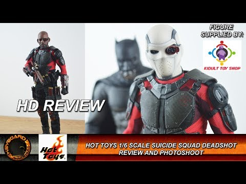 Hot Toys 1/6 Scale Deadshot Review and Photoshoot
