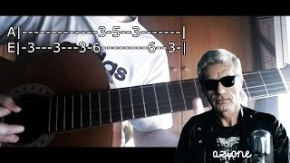 Ligabue - G Come Giungla (Tutorial Guitar Cover)