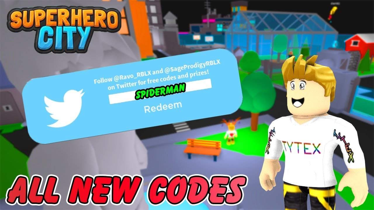 New Codes Superhero City All New Codes Best Codes In The Game