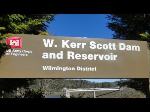 Kerr Scott Lake Bass Fishing