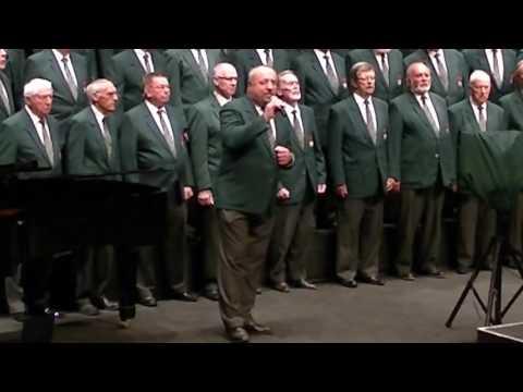 Hallelujah sung by Mark Jansen van Rensburg with Choir backing