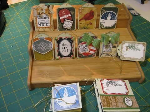 Christmas tags from your Scraps