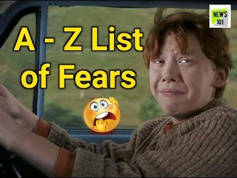 A - Z List of Fears | Darr ki Dictionary | News 101