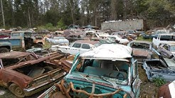 North Carolina Classic Car Junkyard - Wrecked Vintage Classics & Muscle Cars For Sale