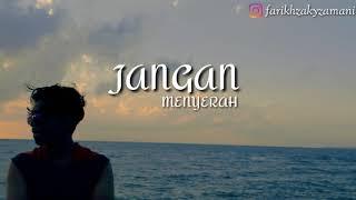 Gambar cover Nufi Wardhana - Jangan Menyerah (Cover acoustic) (Lyric Video)
